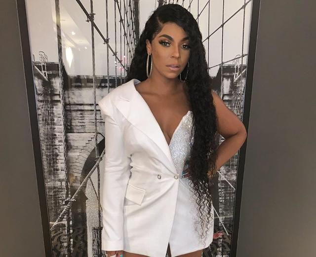 Ashanti Leaves Nothing To The Imagination In Pink Bathing Suit Pictures - Fans Say Nelly Was Wrong To Let Her Go