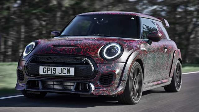 2020 Mini John Cooper Works GP is a limited edition 'Ring-raider