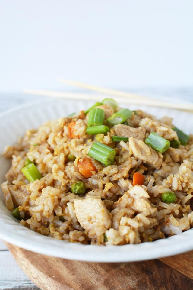 An Easy Chicken Fried Rice Recipe For When You Are Craving Takeout