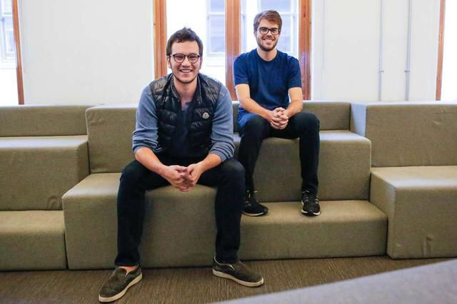 How two college dropouts made $860M fortune by age 23