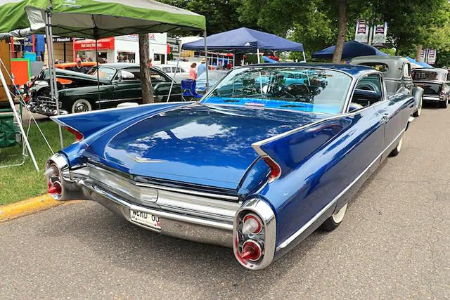 Tailfin Cars Fly into MSRA's Back to the 50s Weekend