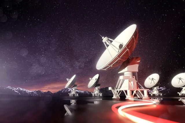 Scientists have picked up a radio signal from the other side of the universe