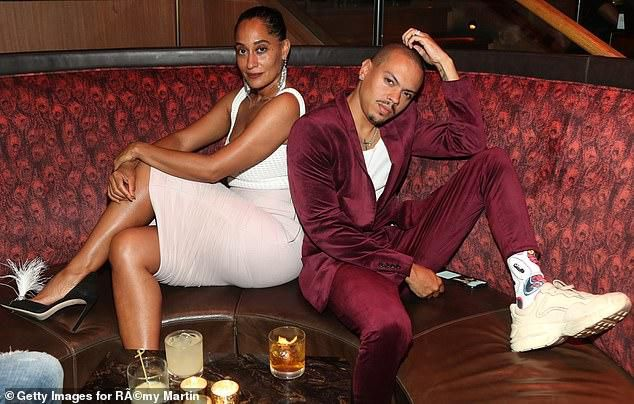 Tracee Ellis Ross and Evan Ross step out in style for Kevin Hart's 40th birthday party in Hollywood