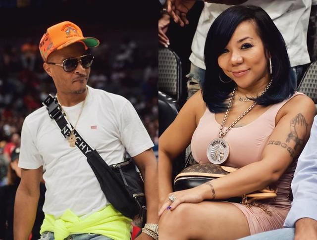 T.I. Looks Ready For Trouble Over Wife Tiny Harris's Revealing Dress In New Video - Xscape Diva Seems Good To Go Too
