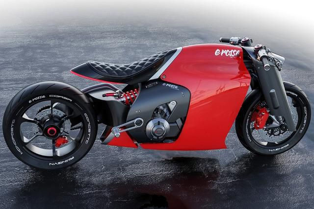 The Ducati è Rossa looks like the broad, able-bodied dude you don't want to mess with
