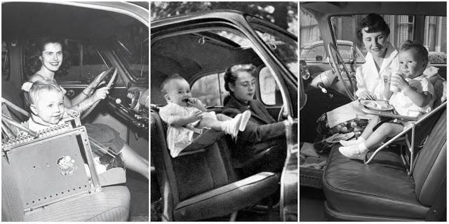 20 Baby Car Seats From the Mid-20th Century Moms Wouldn't Buy Today