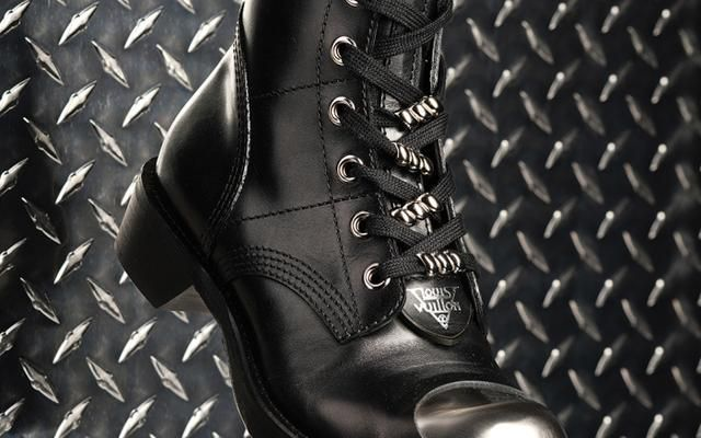 Shoe of the Week: Louis Vuitton's Steel-Toe-Inspired Combat Boot Is Tough Enough for Any NYFW Battle