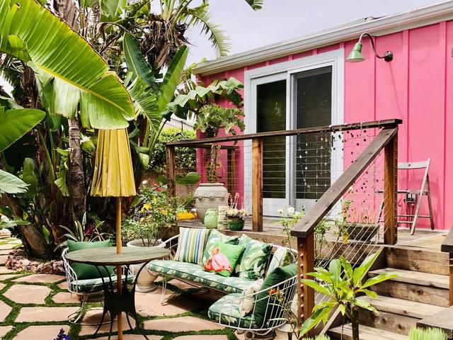 Betsey Johnson's pink mobile home in Malibu is for sale for $1.9M
