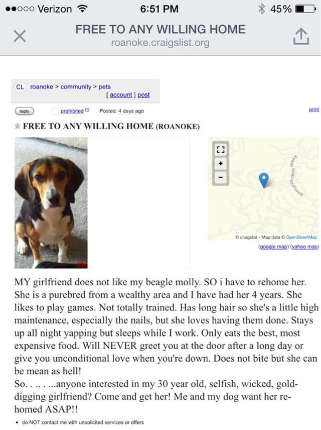 51 Most Hilarious And Crazy Ads On Craigslist