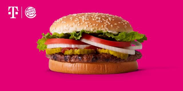 Grab an Impossible Whopper from Burger King on T-Mobile next Tuesday