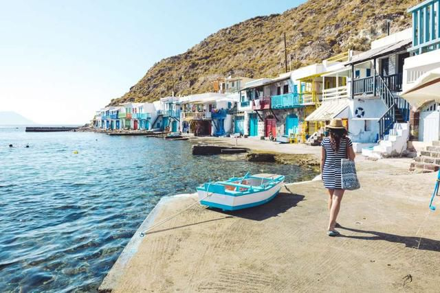Skip Santorini. It has nothing on this beautiful (and much cheaper) Greek island