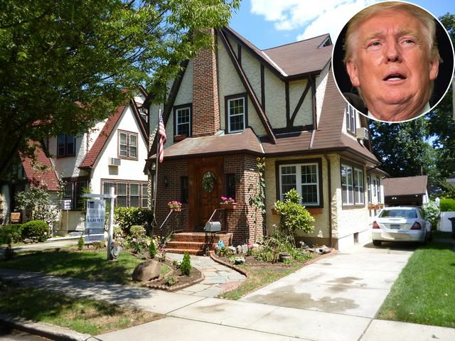 Donald Trump's Childhood Home Is Up for Auction After Failing to Sell for a Year