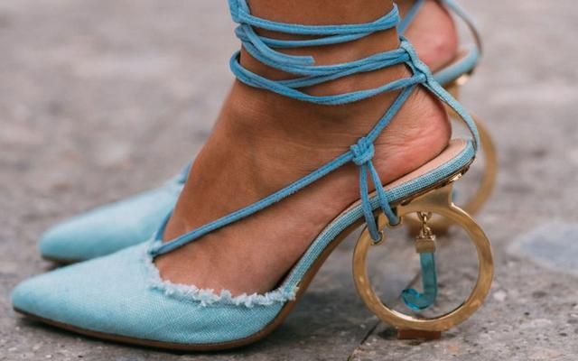 Pretty Pumps & Boots That Popped Reigned the Streets at Milan Fashion Week