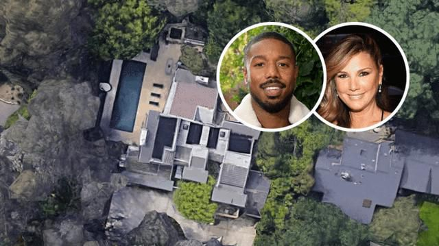 Michael B. Jordan Pays $5.8 Million for Daisy Fuentes's Hollywood Hills House