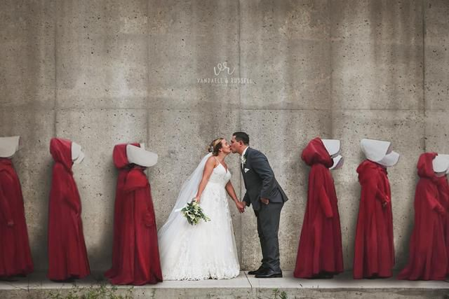 Photographer Behind Shocking 'Handmaid's Tale' Wedding Pic Says It's Not What You Think