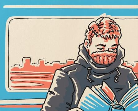 Faces on the ferry: An Amsterdam commute – a cartoon