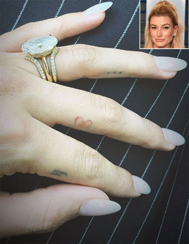 Hailey Baldwin Shares a Close-Up Look at Her Double Wedding Bands from Tiffany & Co.: 'Love My Set'