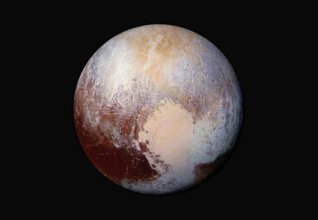 Not blue nor red: Here's what Pluto actually looks like