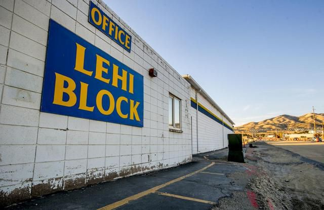 Lehi Block Company, literal builders of the community, says goodbye