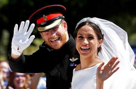 Duchess of Sussex Meghan gives birth to a boy