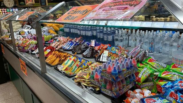 A grocery store chain filled its salad bar with beer, cereal and candy because of coronavirus