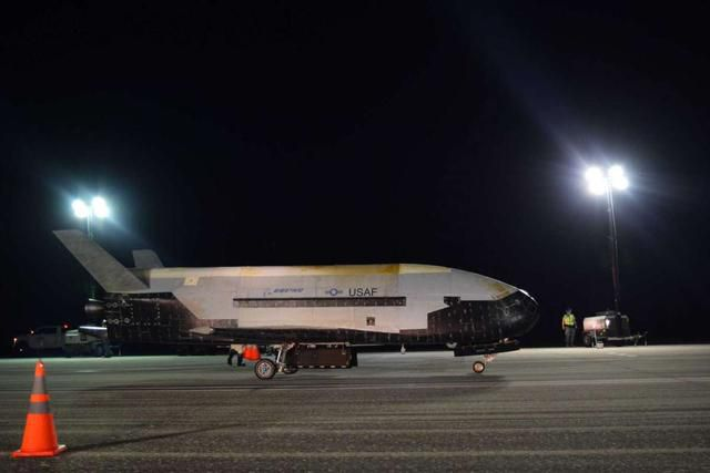 Mysterious spaceplane prepares for launch on Saturday