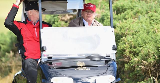 Secret Service Rents Golf Carts for $45,000 as Americans Wait Weeks for Stimulus Bill Checks