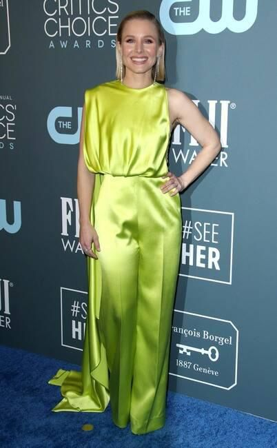 Billy Porter Lucy Hale And More Stun In Minty Green