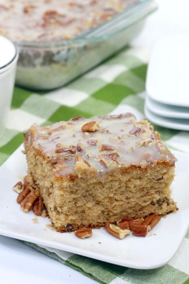 Butter Pecan Praline Cake Recipe