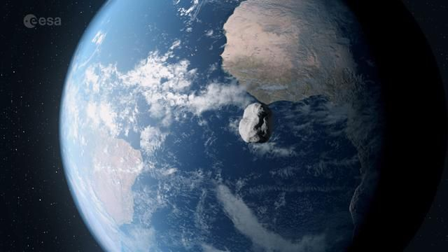 Asteroid The Size Of 6 Football Fields Whizzed By Earth Saturday Night