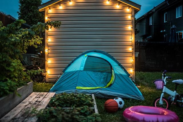 Cure Your Cabin Fever With Backyard Camping