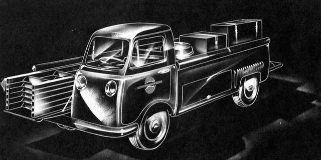 Unusual, Industry-Specific Vehicle Design from the 1950s: The DeKalb Lumberjack
