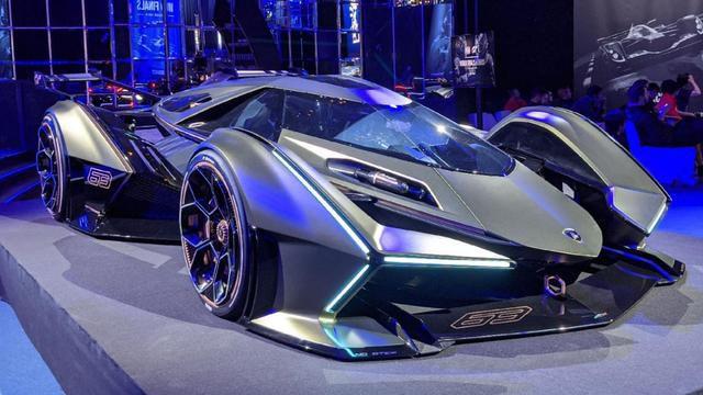 Meet the Lamborghini Lambo V12 Vision Gran Turismo