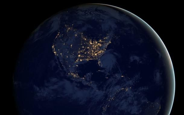 Feast your eyes on this insane nighttime photo of Earth
