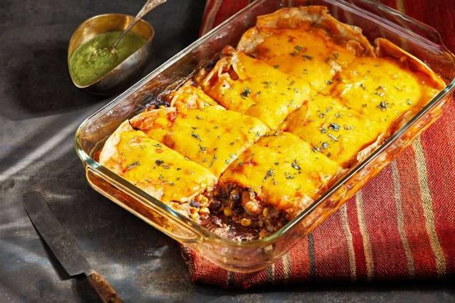 This Mexican-style casserole is an old-school favorite for a reason