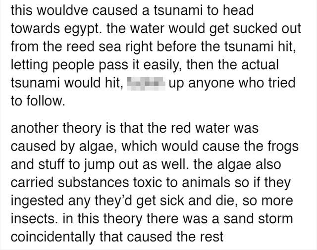 There's A Theory That The 10 Plagues Of Egypt Actually Happened And It Might Have Been Caused By A Volcano