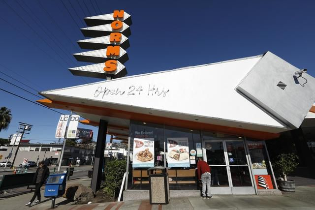 A Friday morning at a SoCal institution, Norms