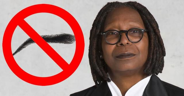 Here's Why Whoopie Goldberg Doesn't Have Eyebrows... You Probably Never Noticed