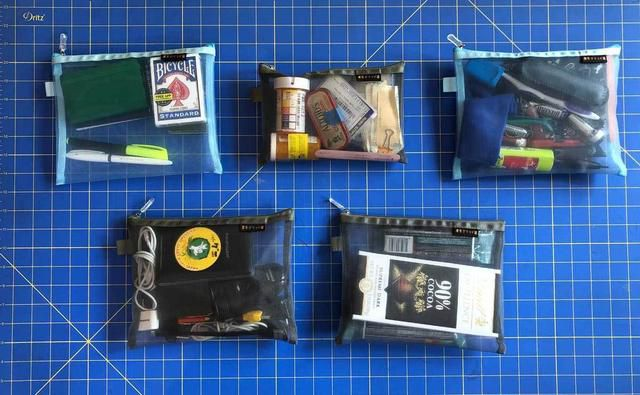 Must-have travel gear - inexpensive zipper bags
