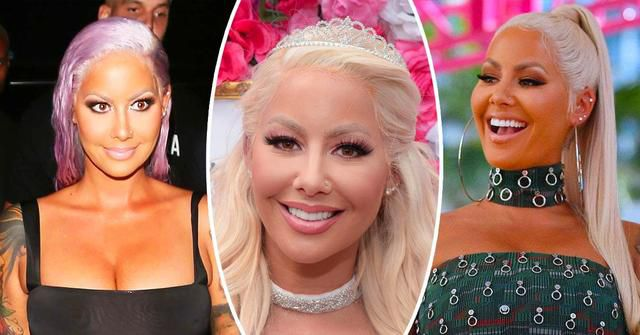 Amber Rose Looks Like A Totally Different Person With These 15 Hairstyles