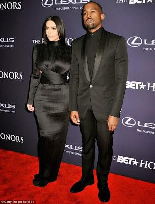 Kanye & Kim Arrive Washington DC for BET Honours... Check Out Their Looks