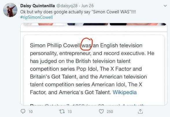 Simon Cowell Dead? AGT Judge's Alleged Death Spreads On Social Media