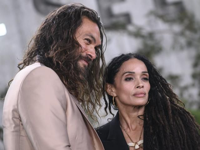Jason Momoa and Lisa Bonet Basically Wore the Same Outfit on the Red Carpet