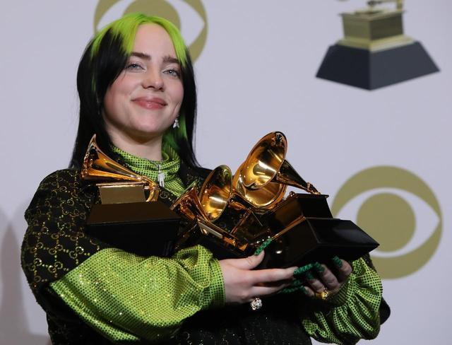 Billie Eilish sweeps Grammy Awards with top four prizes