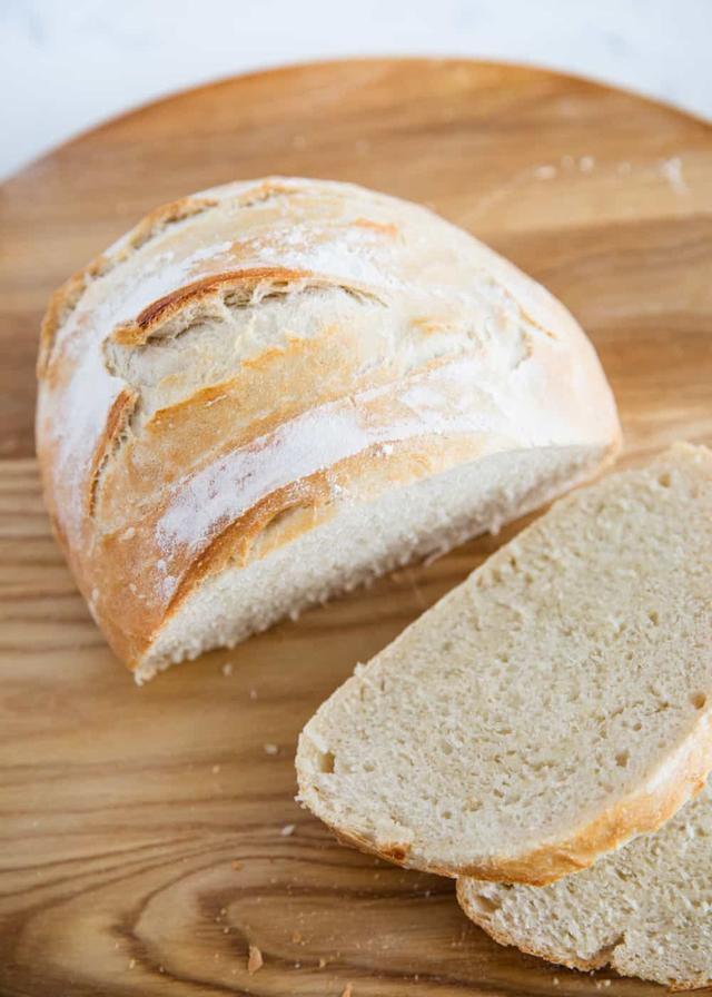 3 Ingredient Artisan Bread