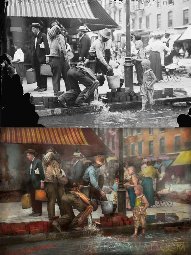 30 Stunning Colorized Images Of New York City
