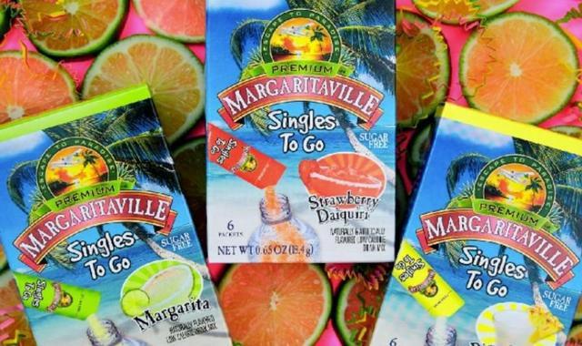 Margaritaville Singles To Go Packets Turn Water Bottles Into Poolside Margaritas