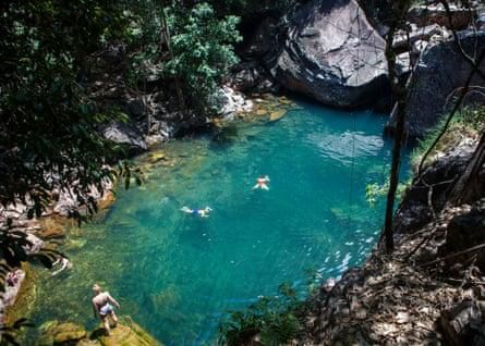 Waterfalls, gorges and hot springs: Go for a swim in our favourite inland pools