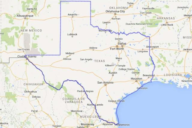 Everything's bigger: Absurd map photos compare Texas to other states and countries