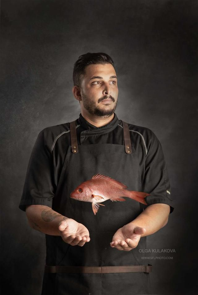 I Have Done A Fine Art Photography Portraits Session Of Chef Sean Chaprak